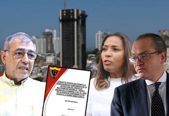 El Informe de la Sociedad Colombiana de Ingenieros, el puntillazo contra Aquarela