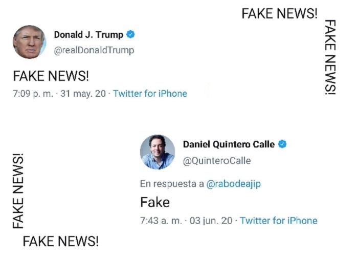 De Donald Trump a Daniel Quintero
