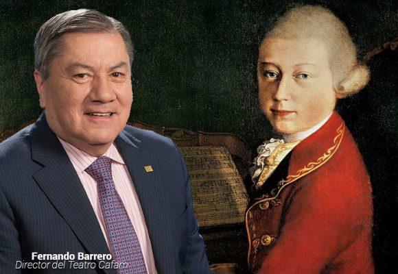 Sayco pide el certificado de defunción de Mozart al director del Teatro Cafam