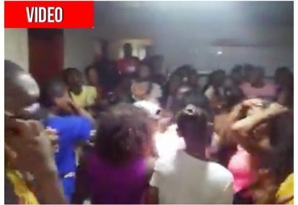 Rumba de 50 jóvenes en Quibdó: apretados y sin tapabocas