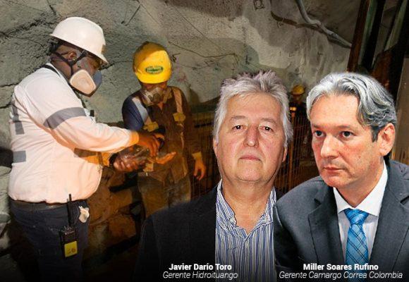 Los brasileros de Camargo Correa y su gran responsabilidad en los contagios en Hidroituango