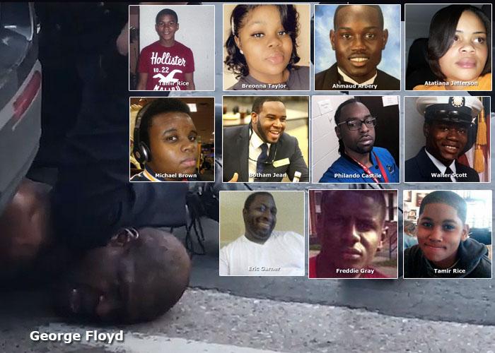 Los otros George Floyd: afros asesinados por la policía