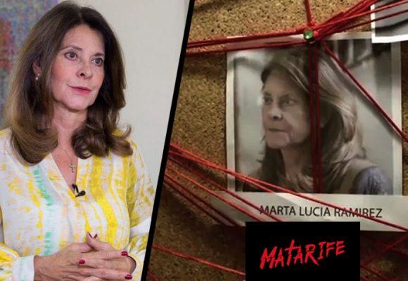 Marta Lucia Ramírez demanda a Daniel Mendoza