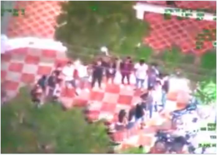 VIDEO: Con armas y drogas se armó narcofiesta clandestina en Malambo, Atlántico