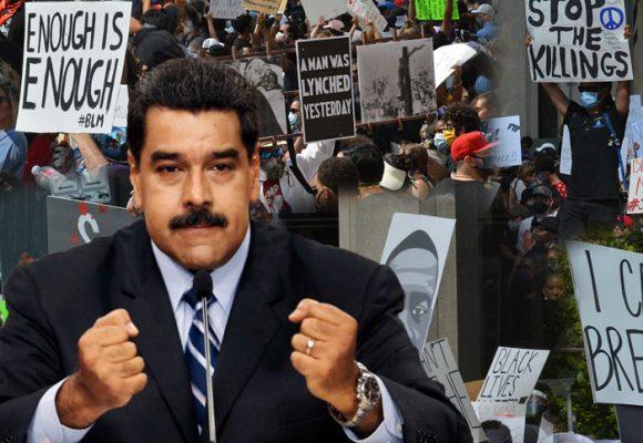 ¿Maduro está detrás de las protestas en EEUU?