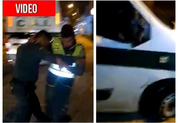 Policías borrachos habrían estrellado una patrulla en Cartagena