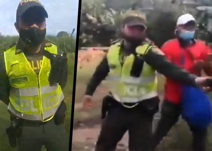 Incomunicado, detenido y al borde de la destitución: el infierno que vive el patrullero Zuñiga
