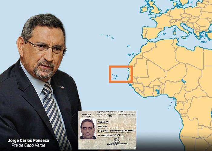 La encartada del presidente de Cabo Verde con Alex Saab