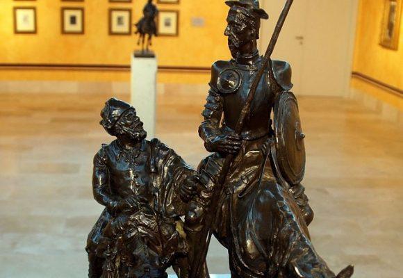 De cómo escuché un diálogo entre Sancho y Don Quijote