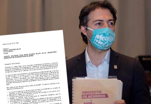 El alcalde de Medellín se atraviesa: no a la apertura de aeropuerto