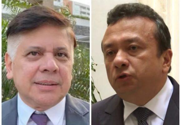 A trompadas el senador Pulgar pide cuentas por millonario contrato en Soledad