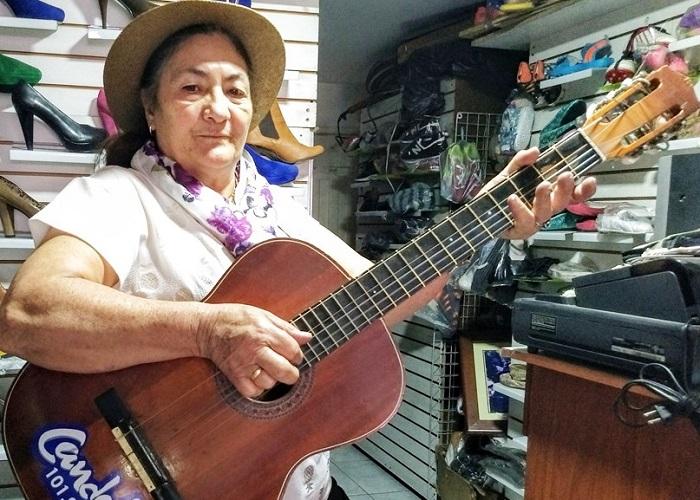 Toyita Chiguachía no se da por vencida ante la adversidad ni la pandemia