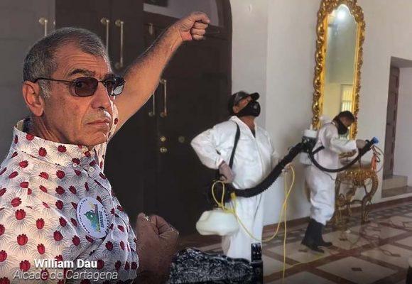 El alcalde de Cartagenatrasladó la oficina a su apartamento