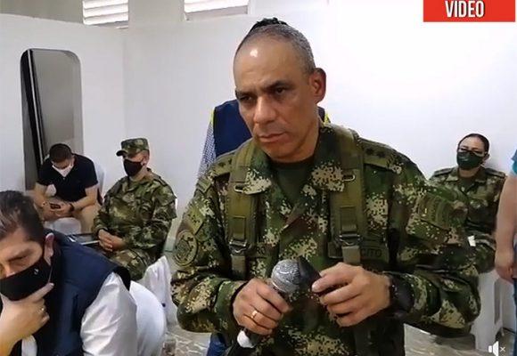 El jefe de las fuerzas armadas y los 7 soldados violadores le dan la cara a los embera