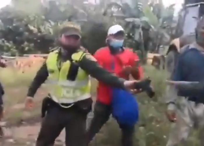 Agente Zuñiga, un colombiano valiente y ejemplar