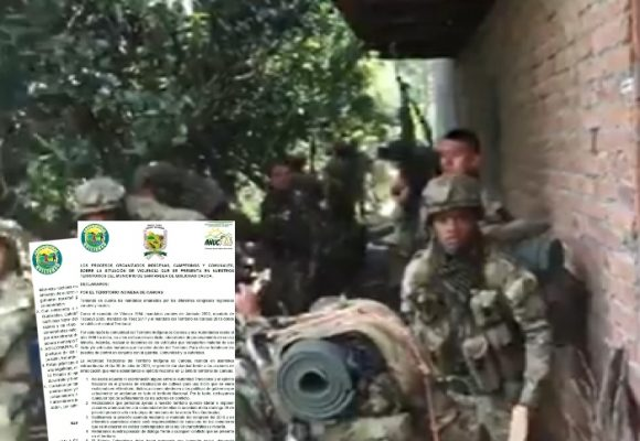 Indígenas y campesinos del Cauca se hacen oir
