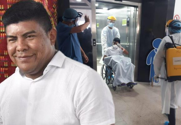 El alcalde Uribia superó el coronavirus