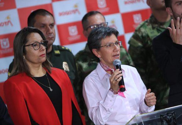 Indignación uribista porque Claudia llamó mentiroso a General de la policía