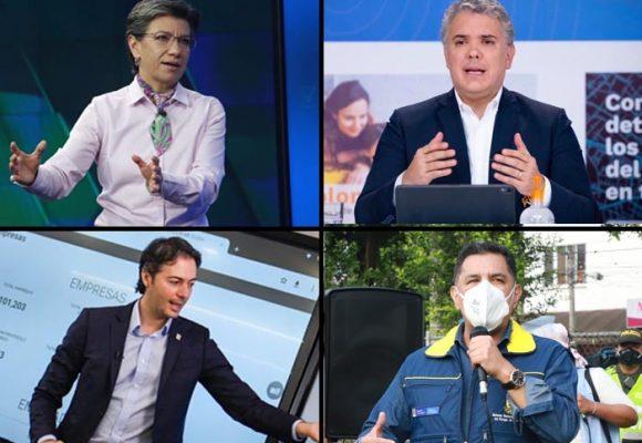 Espaldarazo ciudadano a Duque y 4 alcaldes capitales en tiempos de pandemia