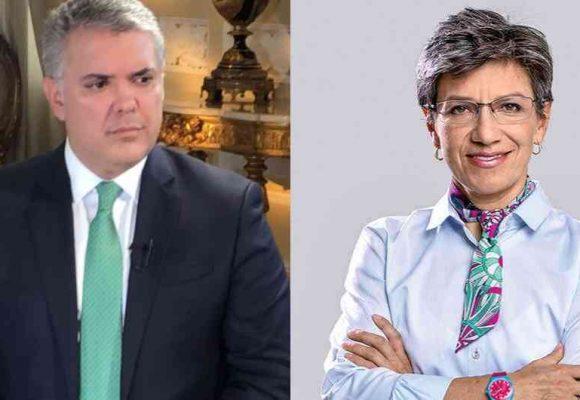 Claudia López y los médicos quieren Cuarentena estricta. Duque dice no