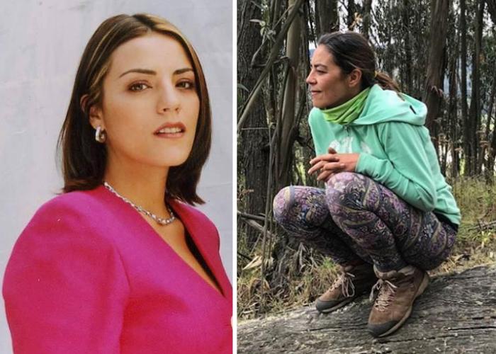 Sandra Reyes se cansó de la estupidez de la televisión y se declara hippie