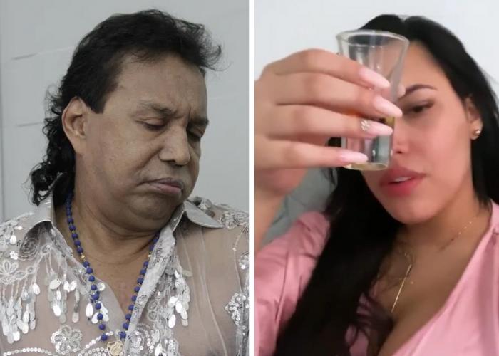 106 días bebiendo, el récord con el que Ana del Castillo le ganó a Diomedes Díaz