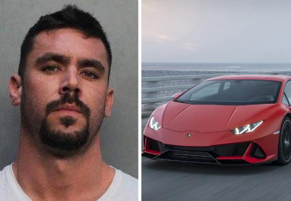 Recibió una millonada para ayudar a la gente, y se compró un Lamborghini
