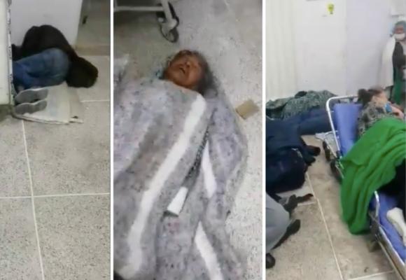 37 personas en un cuarto de hospital en Bogotá. Denuncia