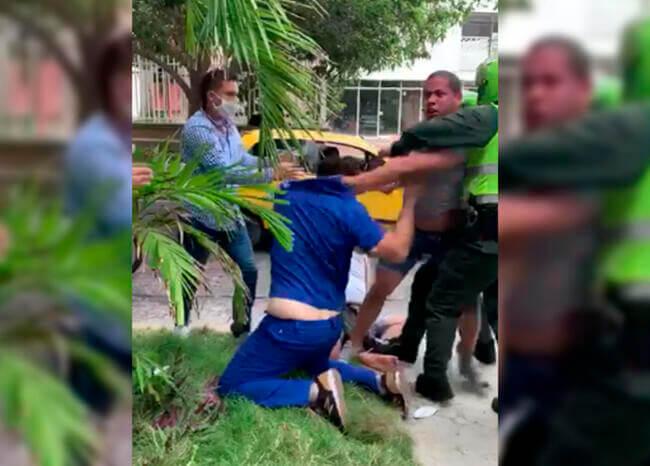 Golpiza a médico en Barranquilla por parte de familiares de paciente con COVID 19