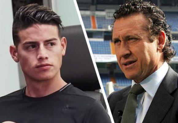 Otro ídolo del Real Madrid insinúa que James es un vago