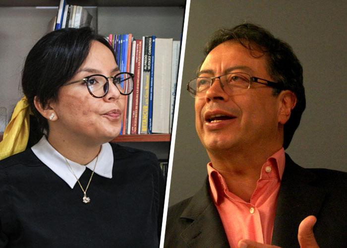 Cachetada de lider estudiantil a Gustavo Petro