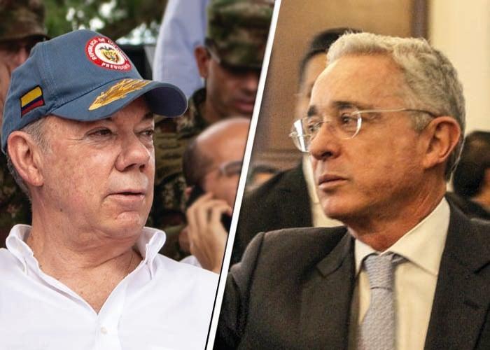 Desplante de Uribe a Santos por la Operación Orión