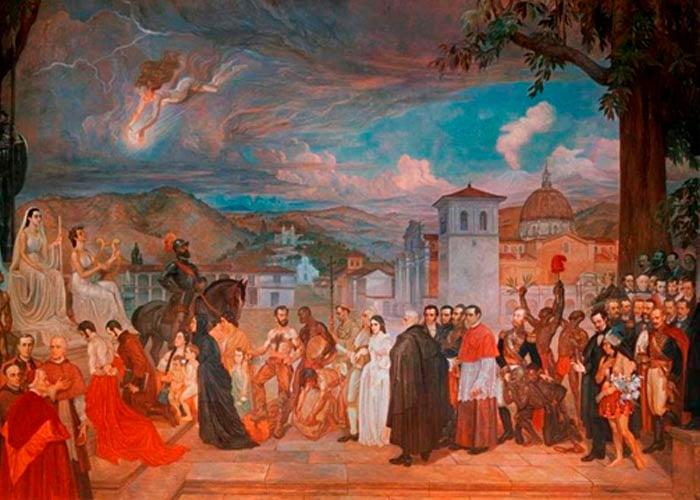 Próceres de Popayán: afros, indios y judíos