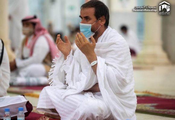 Oración en la Meca, un ritual triste rodeado por la pandemia