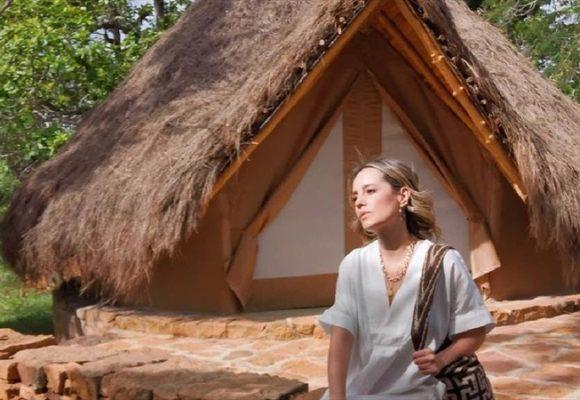 La presentadora Milena López con combo de amigos se va de paseo a Barichara