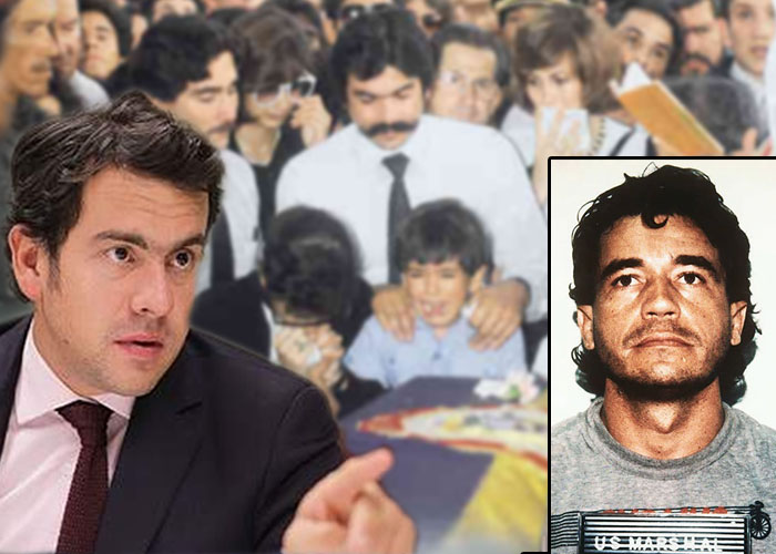 La pesadilla de Rodrigo Lara: ver a Carlos Lehder libre en Alemania