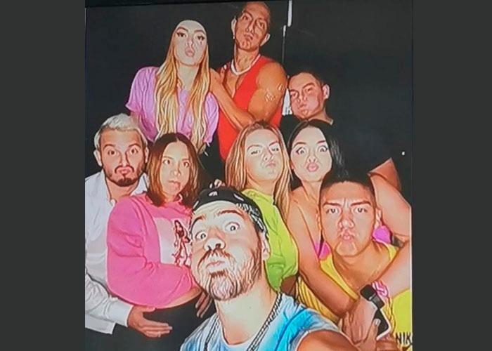 Las fiestas clandestinas protagonizadas por Higuita, Pipe Bueno y Luisa Fernanda W en Medellín