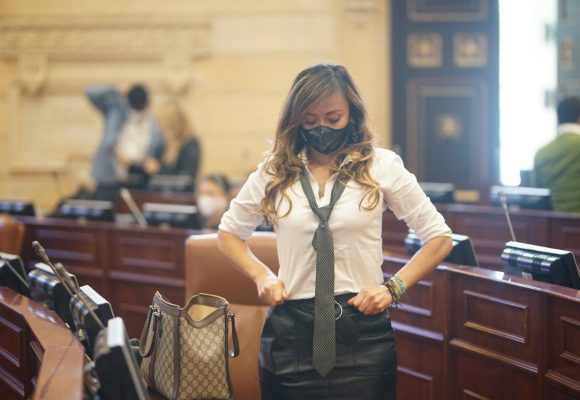 Katherine Miranda, la congresista más sexy de Colombia