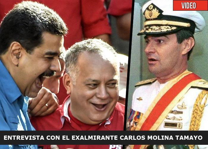 """""""A Maduro y a su camarilla le espera un destino como el de Pablo Escobar"""""""