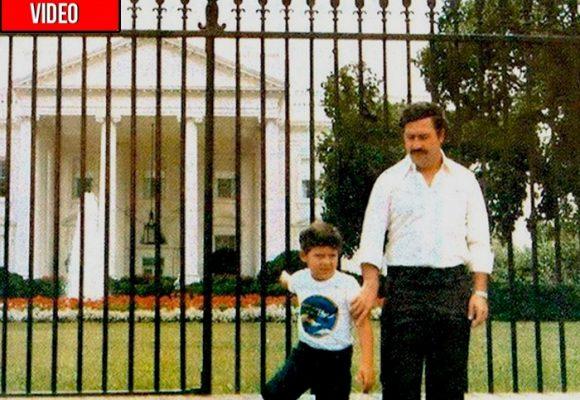 Cuando los gringos trataban como un rey a Pablo Escobar