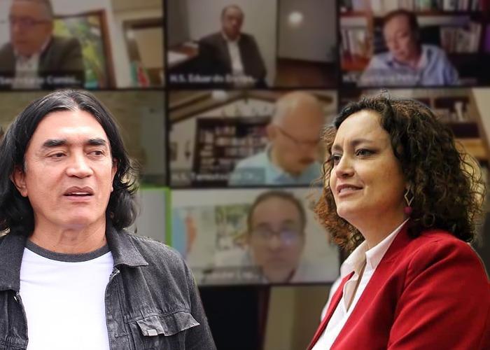 Angélica Lozano le ofrece excusas a Gustavo Bolivar por madrazo
