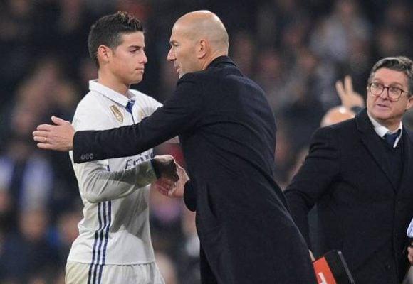 Arrancó la vengana de Zidane con James