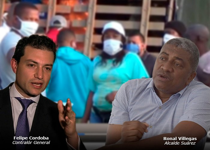 La rumba del alcalde de Suárez, Cauca, con la plata de la pandemia