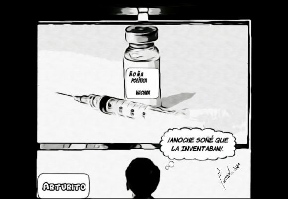 Caricatura: Qué gran noticia... lástima que haya sido un sueño