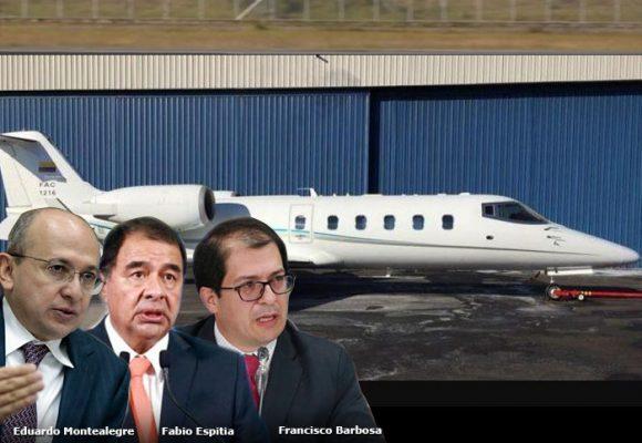 El avión que enloquece a los fiscales