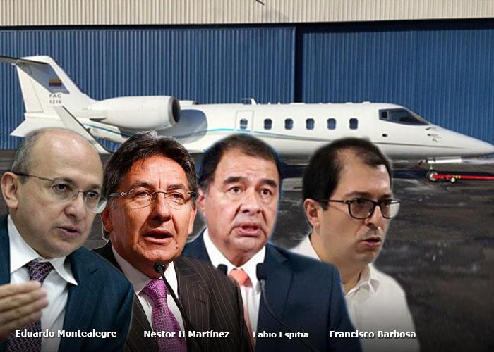 ¿Cuánto le cuesta a los colombianos la hora de vuelo del avión de la Fiscalía?