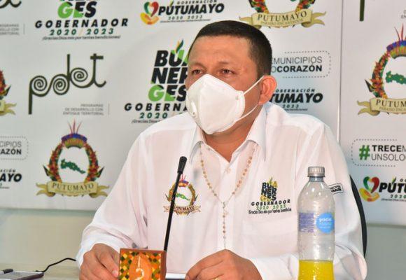 Gobernador de Putumayo en cuidados intensivos en Cali por COVID