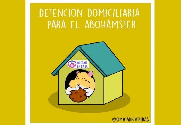 Caricatura: ¿Detención domiciliaria para el abohámster?