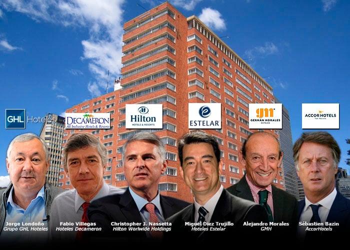 Seis grandes cadenas con sus hoteles cerrados