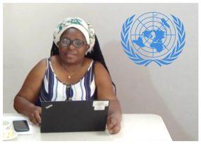 Desde el Cauca, la voz de Clemencia Carabalí se hizo oir en la ONU